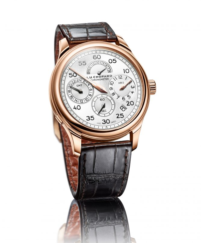 Chopard's craftsmanship Classic LUC watch