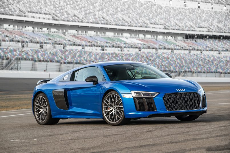 Overdrive Audi R V Plus Is Its Most Powerful Production - Audi r8 v10 plus