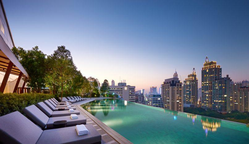 Park Hyatt Bangkok Pool Terrace