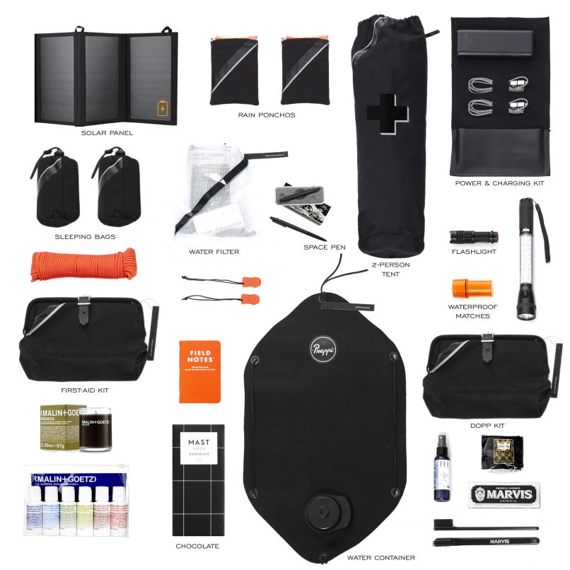 preppi prepster luxury survival kit