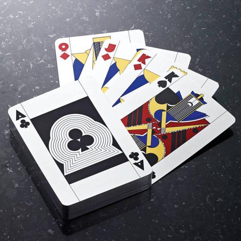 jean puiforcat playing cards