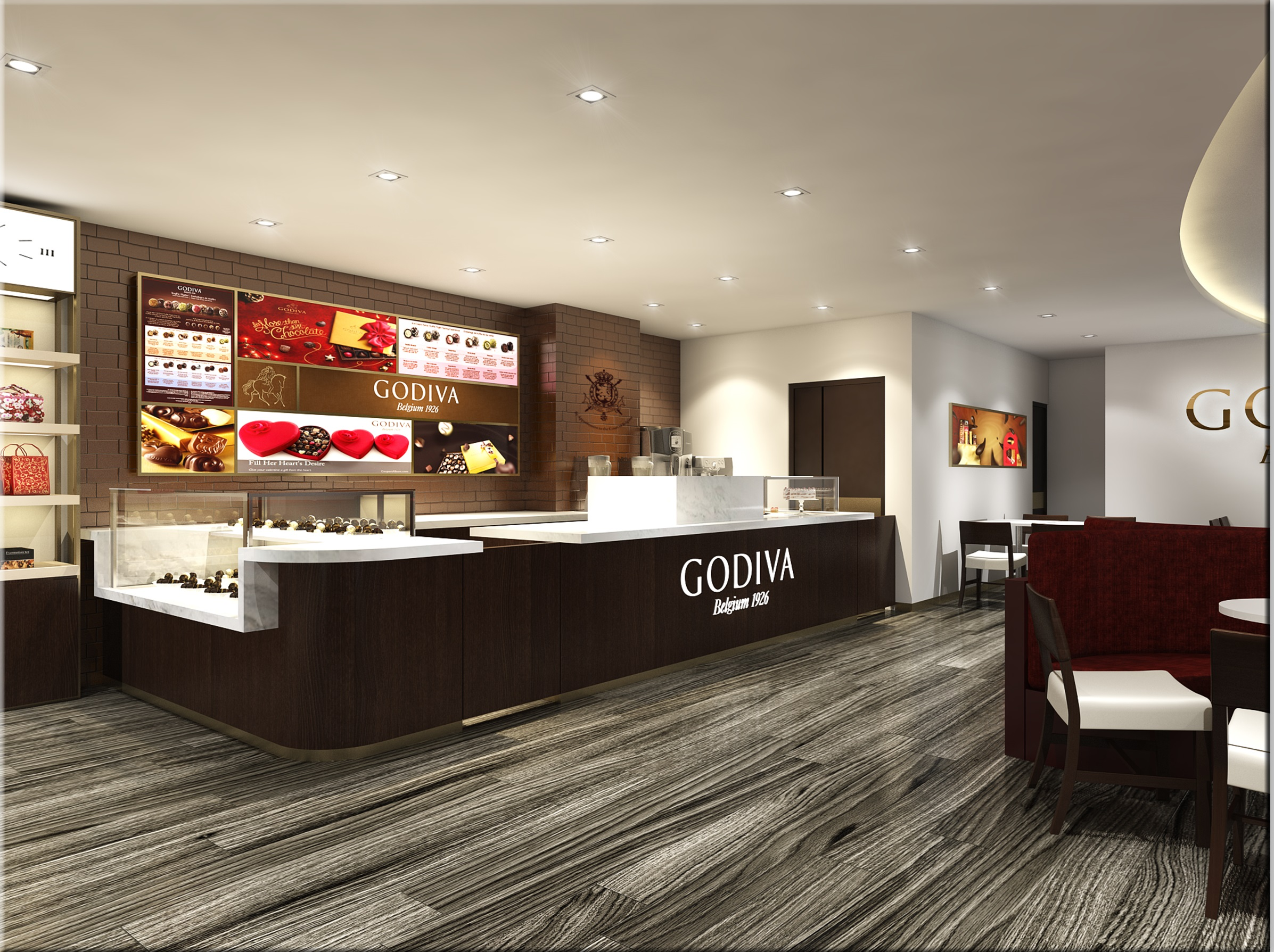 Godiva Chocolatier launches its first Singapore concept café ...