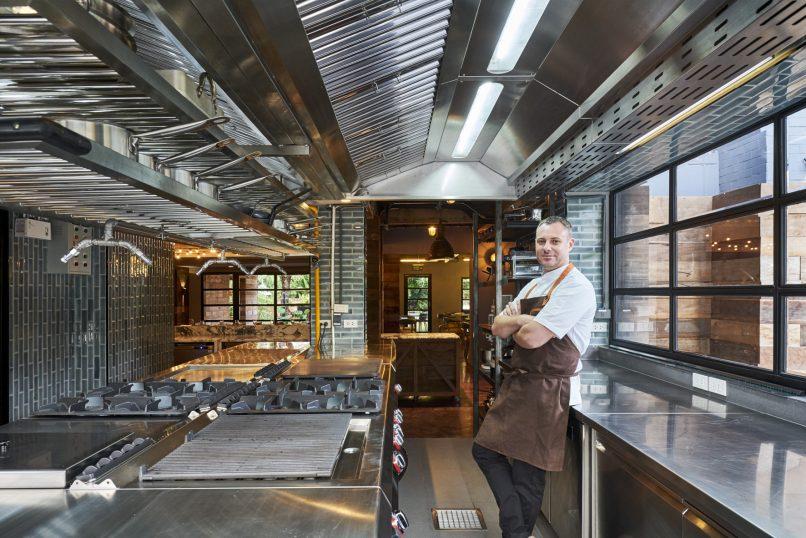 Chef Dallas Cuddy at Freebird