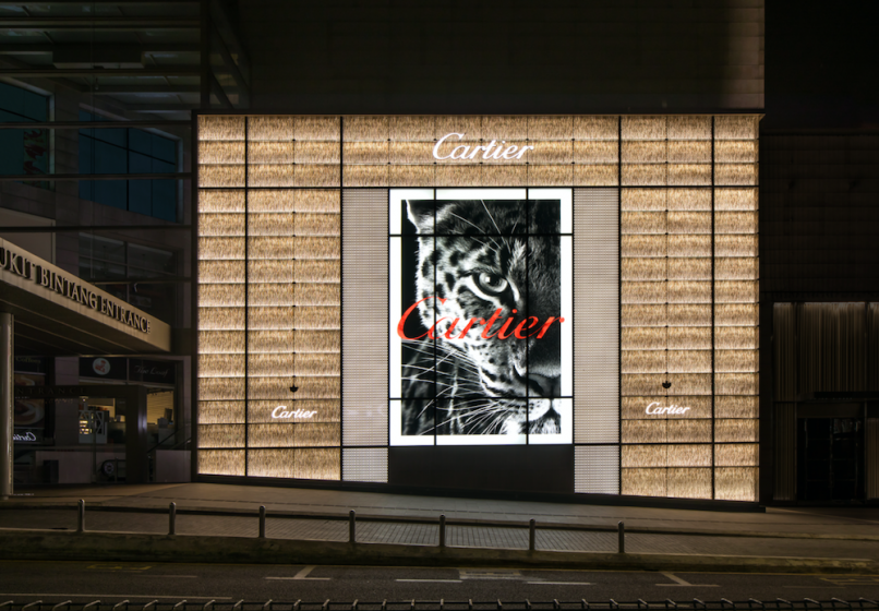 Cartier Opens Its First High Jewellery Salon In Southeast