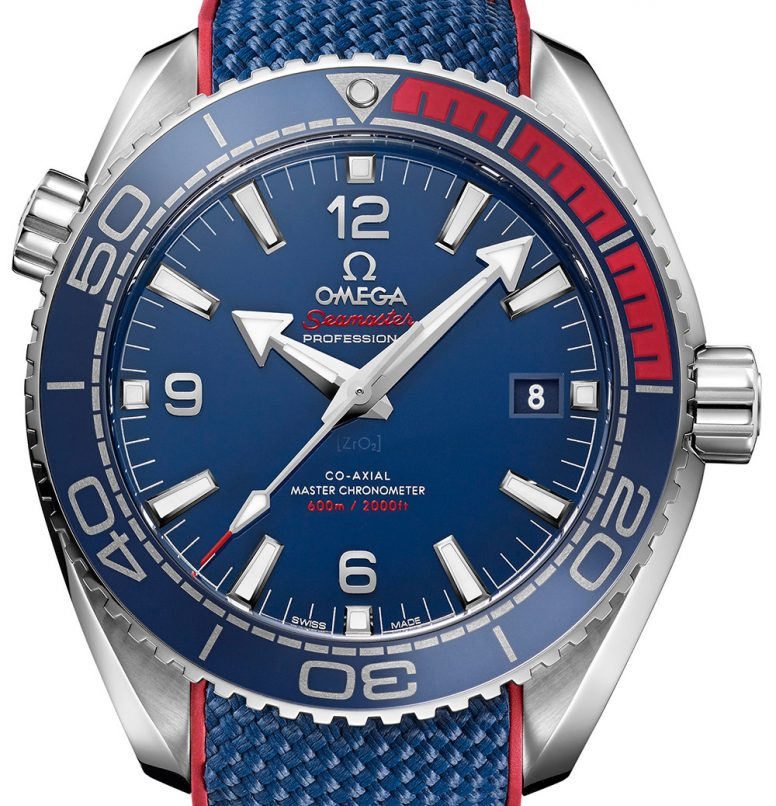 Omega Seamaster Planet Ocean PyeongChang 2018 Olympics watch