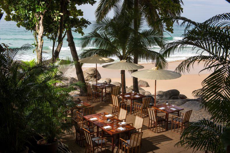 Beach Dining Setup Amanpuri