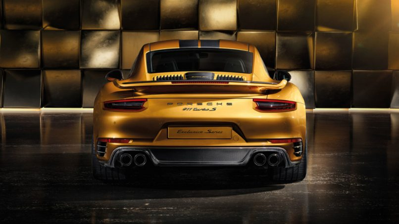 2018 Porsche 911 Turbo S Exclusive Series coupe