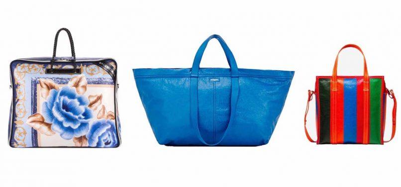 balenciaga shopping bag paper bag