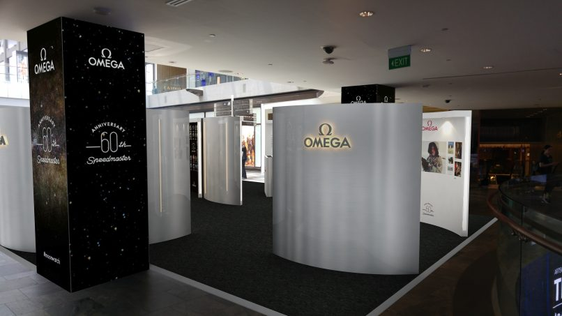Omega Speedmaster 60th anniversary exhibition