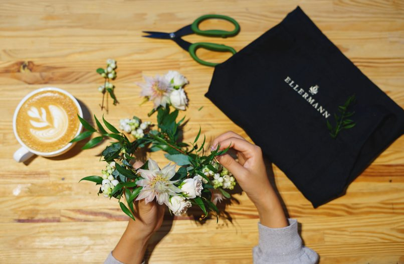Things to do in Hong Kong - Ellermann Flower Crown Workshop