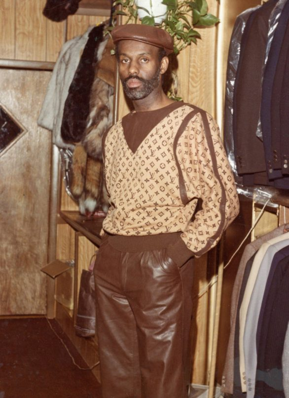 dapper dan in his boutique 1992