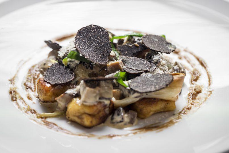 black truffle dishes