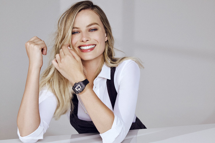 Margot Robbie for Richard Mille