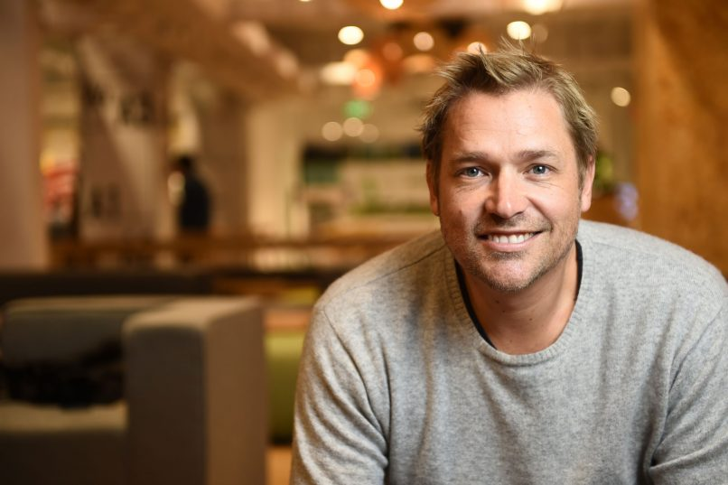 naked Hub - Bonham Strand co-working space co-founder Grant Horsfield