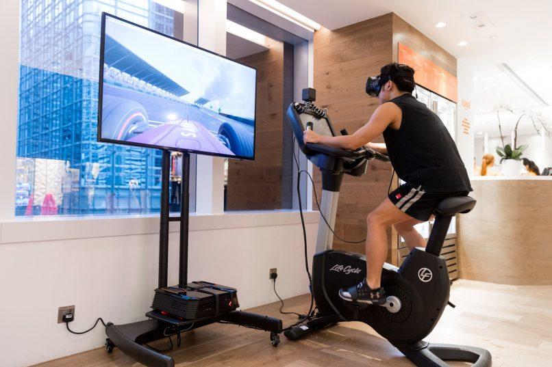 Innovation Lab - Virtual Reality Fitness Bike