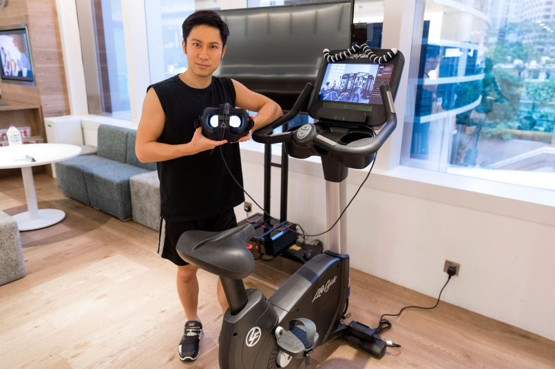 Innovation Lab - Virtual Reality Fitness Bike with Techspert John Leung
