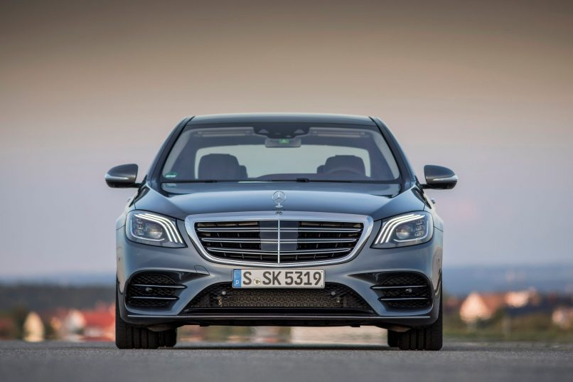 Mercedes-Benz S-Class - New Grille