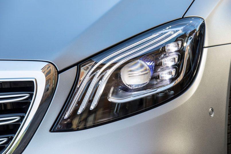 Mercedes-Benz S-Class - new headlamps