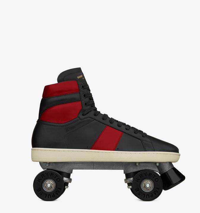 yves saint laurent roller skate stilettos