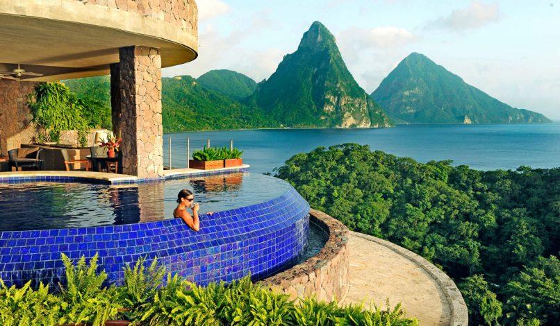 Luxury Hotels We Love - Jade Mountain Resort