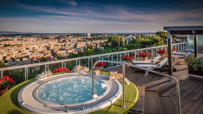 Luxury Hotels We Love - Rome Cavalieri
