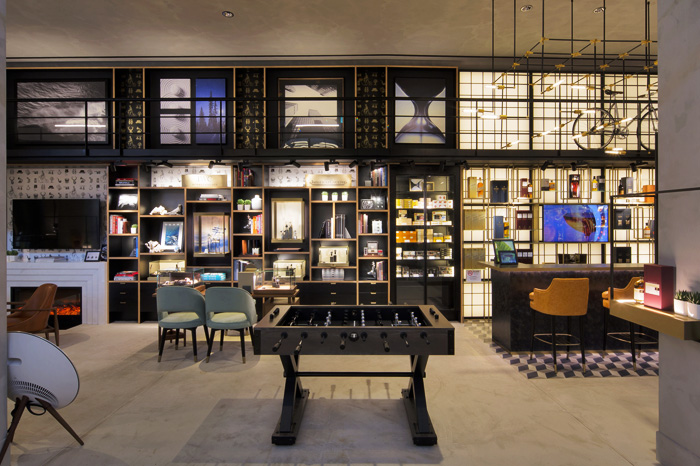 DFS offers lifestyle shopping experience with brand new gentlemen's lounge