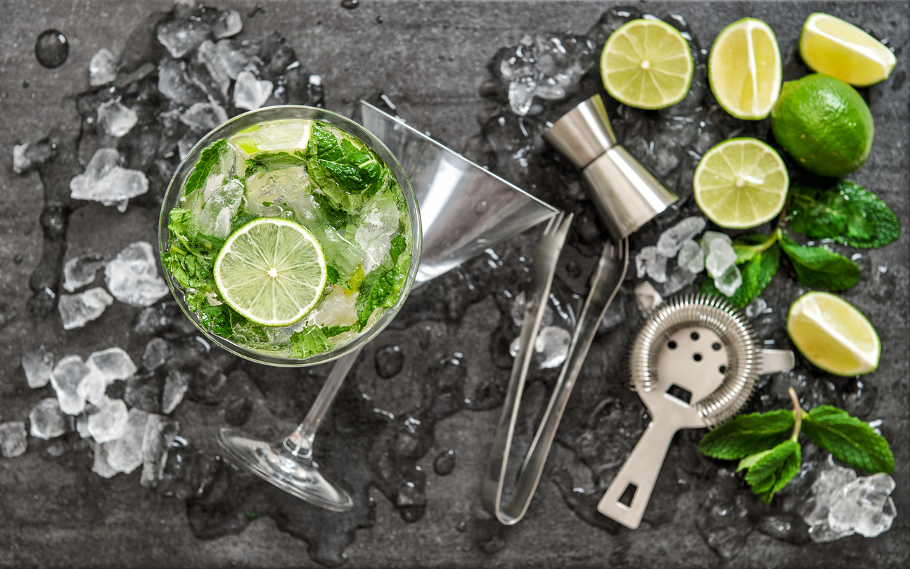 cocktails under 200 calories mojito The Cheat Sheet