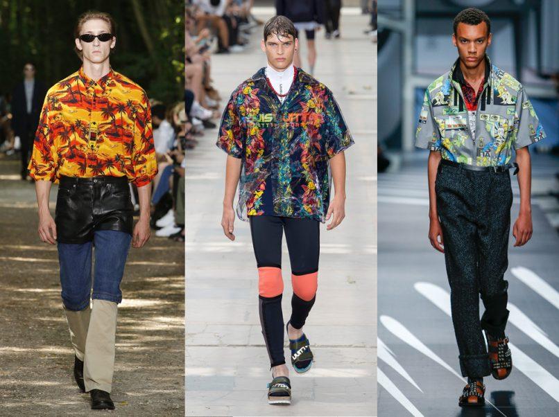 hawaiian shirt balenciaga louis vuitton prada