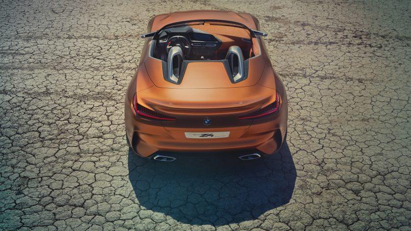 BMW Concept Z4 rear