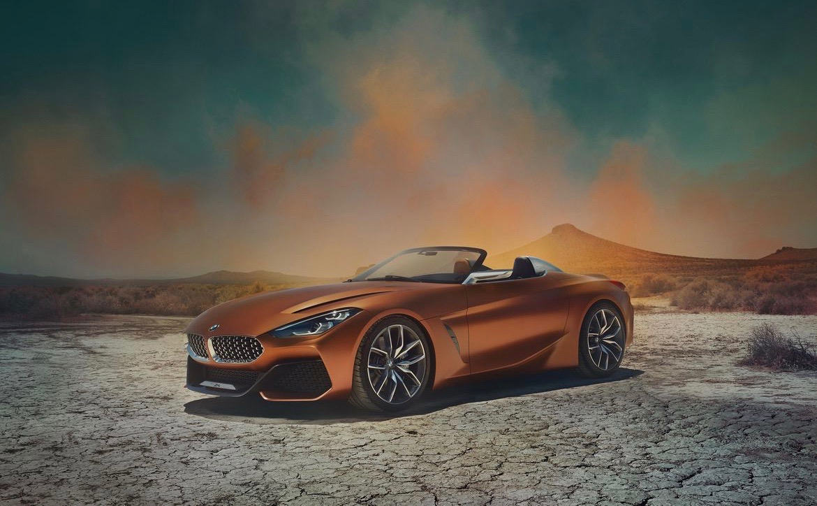 BMW Concept Z4 The Cheat Sheet