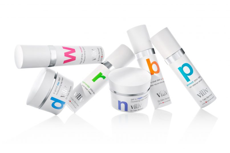 viliv serums - group products
