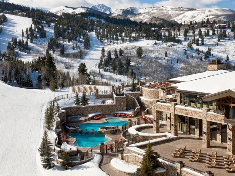 luxurious ski resorts