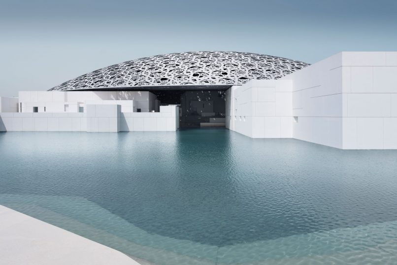 Louvre Abu Dhabi - exterior