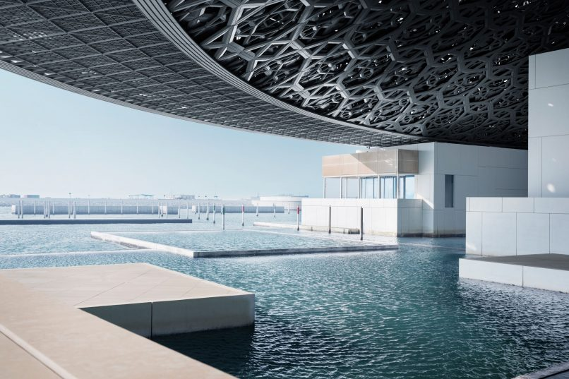 Louvre Abu Dhabi - under the dome