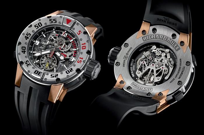 RM 025 Tourbillon Chronograph Diver's Watch