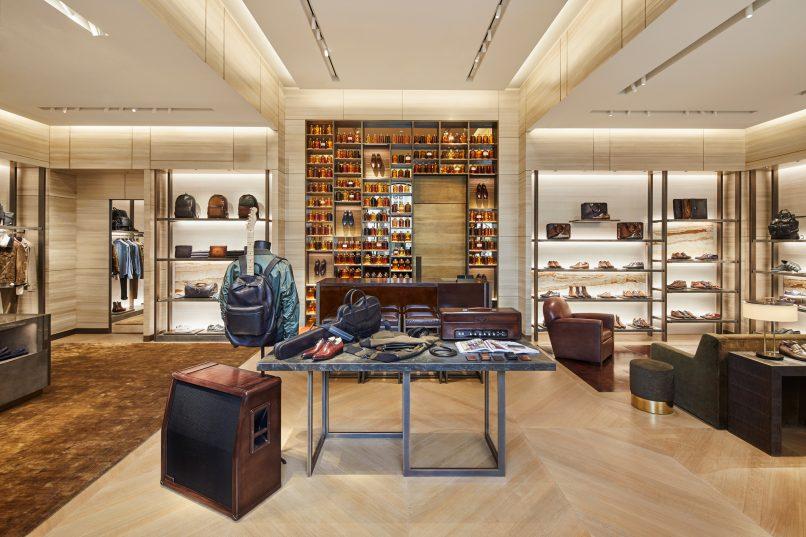 berluti beverly hills store interior