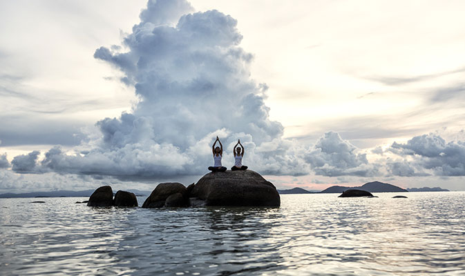 Kamalaya Koh Samui yoga retreats in Thailand