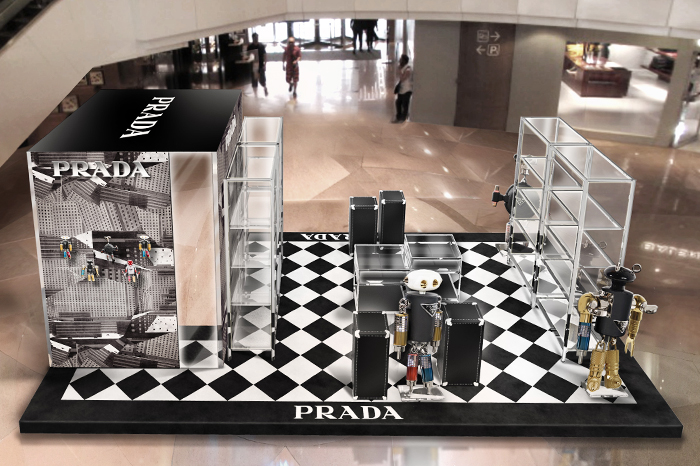 Prada pop-up store