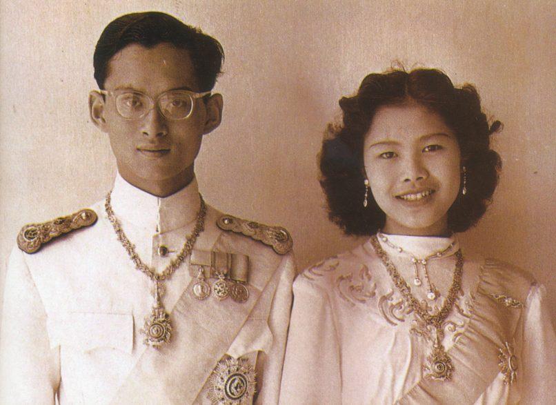 His Majesty King Bhumibol Adulyadej and Her Majesty Queen Rajawongse Sirikit Kitiyakara