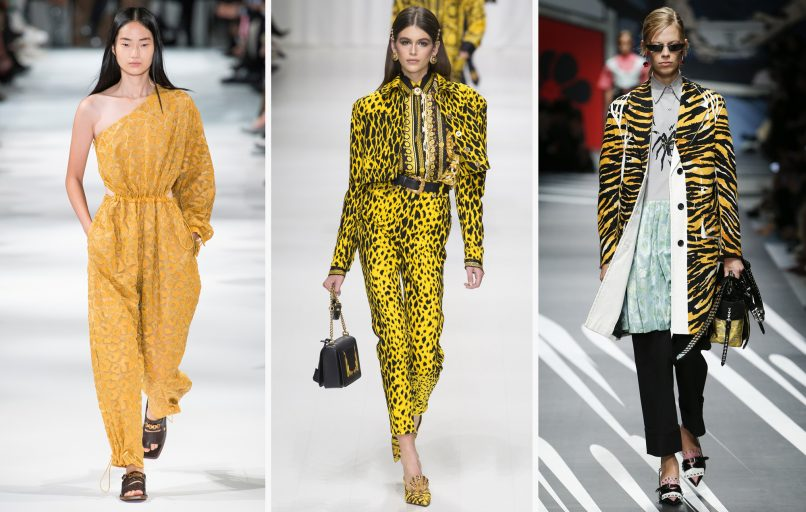 animal prints spring 2018 trends