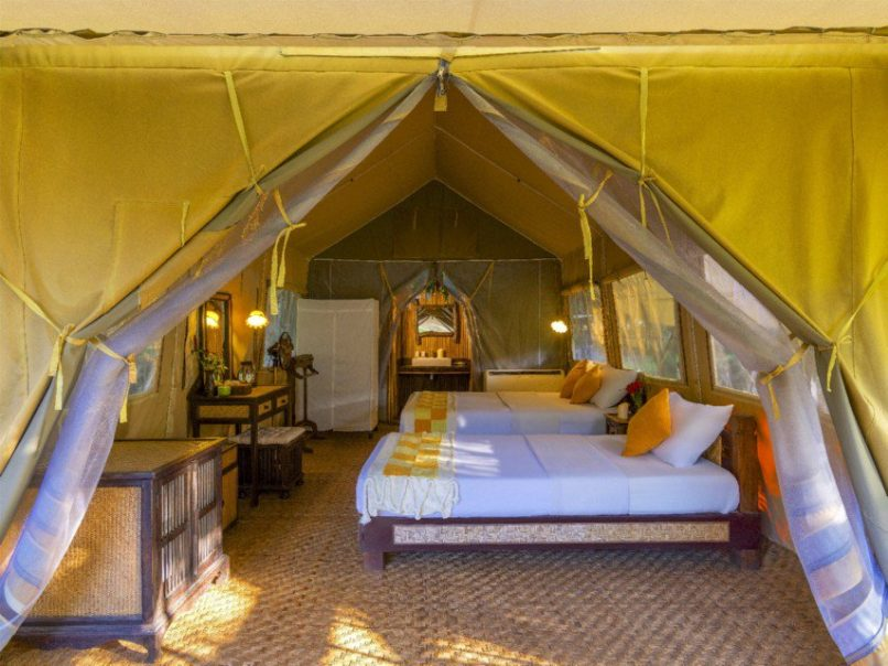 Hintok River Camp glamping thailand