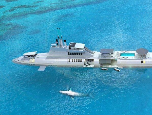 submarine yacht