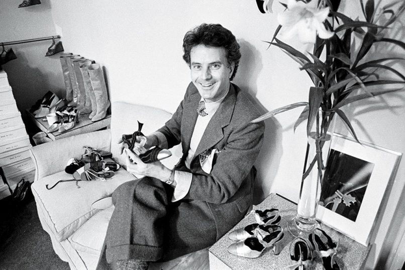 young Manolo Blahnik 1975