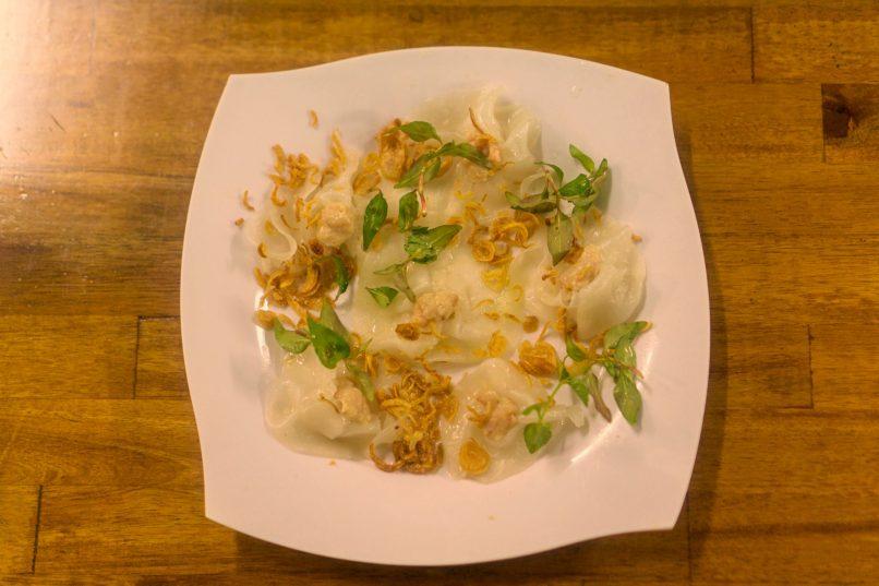 Hoi An - white rose dumplings