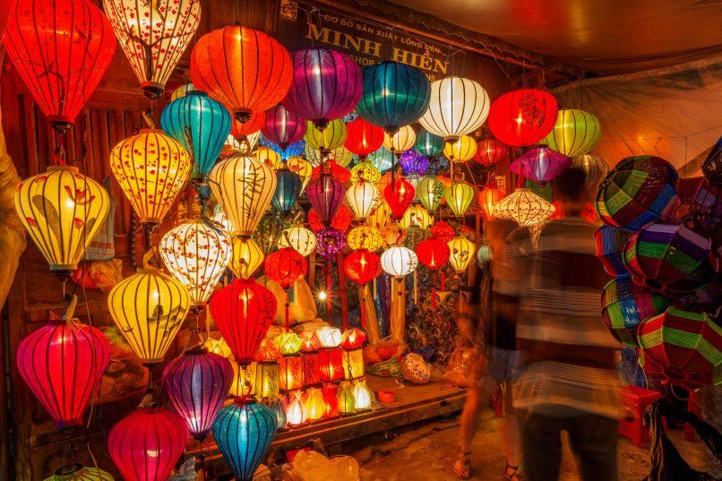 Hoi An - lanterns