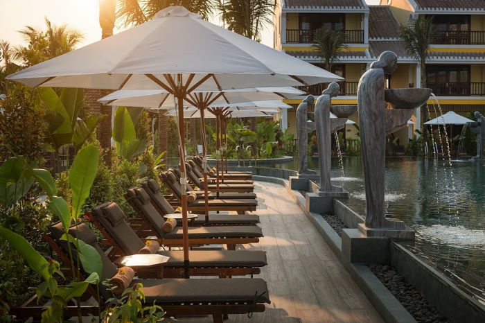 Hoi An - La Siesta Resort and Spa pool