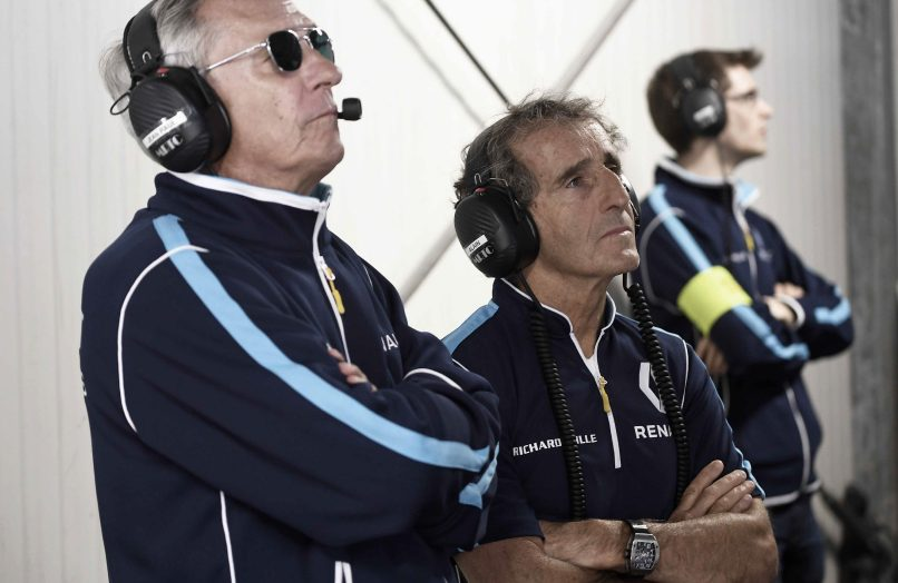 alain prost team-picture