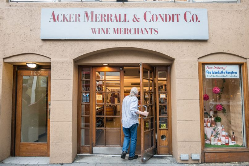 acker merrall and condit wine club