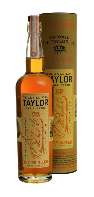 jim murray whisky bible Colonel E.H. Taylor 4 Grain Bottled In Bond Aged 12 Years
