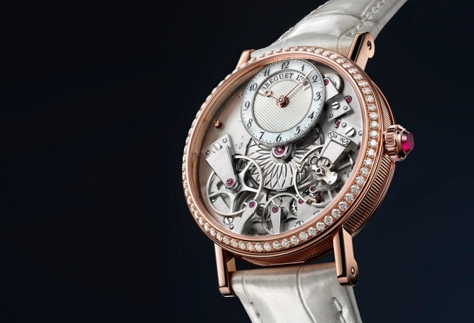 The Breguet Tradition Dame is a mechanical marvel of sophisticated ... 47cb2f7170
